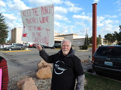 DSCN6543 (WildEarthGuardians) Tags: protest wyoming climate publiclands leasing oilandgas fracking keepitintheground