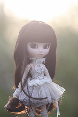 Pullip  Clara Exclusive ( ) Tags: clara pink light sunset 2 england people sun stockings beautiful smile grass fashion canon lens eos milk big high eyes chair focus doll soft ray dress view puppet bokeh outdoor lace mark small lawn large 8 indoor tape jacket ii f locks 5d softfocus pullip 28 mm 135 dummy pinkhair exclusive ef headed photog poppet  degradation largeheaded