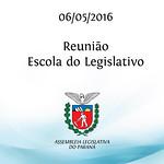 Reuni�o Escola do Legislativo 06/05/2016