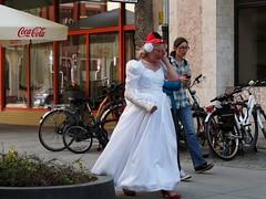 wedding photography (roman.gieszczyk) Tags: street wedding people crazy poland polska olympus wrocaw kalambur
