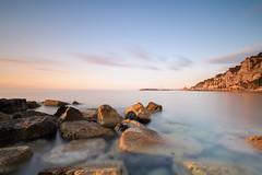 good morning Alassio (Ste.Viaggio) Tags: sea sunrise landscape nikon mare alba liguria persone spiaggia paesaggio luoghi alassio stevia80