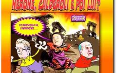 C' ancora un barcarolo romano che va controccente (SatiraItalia) Tags: vignette humo satira