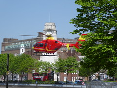 West Midlands Air Ambulance (metrogogo) Tags: birmingham flight ambulance helicopter airborn birminghamuk airambulance westmidlandsairambulance