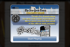 Information dialog (lezumbalaberenjena) Tags: new york ny art ads corporate design marketing video media graphic social games images times branding logotype crosswords nytc magmic