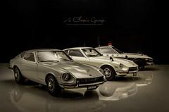 1970's Datsun/Nissan Fairlady Z Series (aJ Leong) Tags: 1970s datsunnissan fairlady z series 118 kyosho classic vehicle vintage garage s30 fairladyz datsun nissan 240z