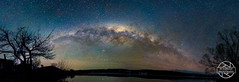 Magic Night Sky (jbrambaud) Tags: light lake water night stars reflexion milkyway
