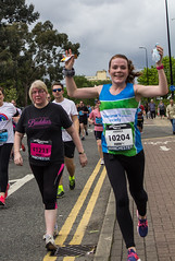 Manchester  2016 Run (19) (alsimages1 - Thank you for 860.000 PAGE VIEWS) Tags: old sun rain manchester fun shower blind tunnel run professional runners trafford runner amateur lowry participants the 2016