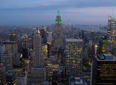 Empire dusk (kevinoconnor1000) Tags: new york city nyc urban newyork skyline architecture long exposure fuji state dusk empire fujifilm empirestatebuilding empirestate x100 fujix fujix100s fujifilmx100s