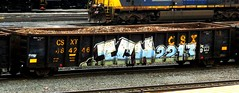 ICH (timetomakethepasta) Tags: ich ichabod yme 63 2213 freight train graffiti csx gondola csxt