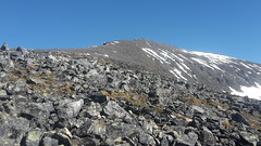 20160626_165332 (valugi) Tags: mountain snow norway midnightsun troms tromsdalstinden