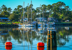 Camping & Boating (tclaud2002) Tags: camping usa seascape nature sailboat landscape boats outside outdoors photo florida outdoor stuart photograph photoraphy mooring tropical campground moored okeechobeewaterway stlucielockdam