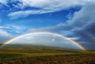 Multiple rainbow