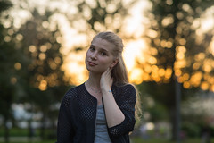 DSC00265 (andresik12) Tags: park sunset girl beautiful russia gorkogo