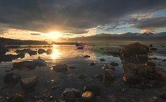 New Zealand Memories (Vemsteroo) Tags: winter light sunset sea newzealand sky cloud mist mountains reflection water sunshine clouds coast nikon scenery view dusk clarity snowcapped coastal southisland kaikoura 1224mm f4 d90 rocjs
