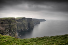 Cliffs Of Moher (Tim Drivas Photography) Tags: ocean longexposure ireland landscape doolin cliffs cliffsofmoher atlanticocean hdr countyclare