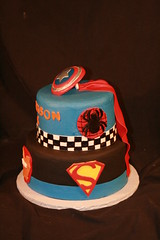 "Super hero cake • <a style=""font-size:0.8em;"" href=""http://www.flickr.com/photos/60584691@N02/7021483831/"" target=""_blank"">View on Flickr</a>"