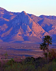 Elephant Head sunset (wplynn) Tags: santa arizona mountain elephant mountains green raw head rita valley alpenglow