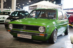"""Green VW Golf mk1 • <a style=""""font-size:0.8em;"""" href=""""http://www.flickr.com/photos/54523206@N03/7039050299/"""" target=""""_blank"""">View on Flickr</a>"""