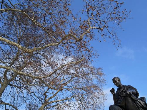 Statue Jean-Jacques Rousseau