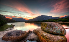 Oberon Sunrise (matt haysom) Tags: sky sunlight seascape nature clouds dawn nikon rocks australia victoria shore tidalriver sigma1020mm wilsonspromontory d7000