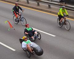 2012 Five Boro Bike Tour, FDR Drive South, New York City (jag9889) Tags: nyc ny newyork bike cyclists weird tour 5 harlem manhattan bikes bicycles event boroughs fdrdrive sponsor 2012 td tricycles tdbank tdfiveborobiketour jag9889 y2012