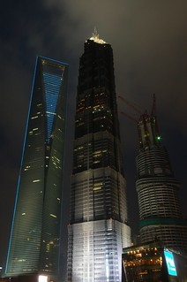 Shanghai - Two and a Half Skyscrapers