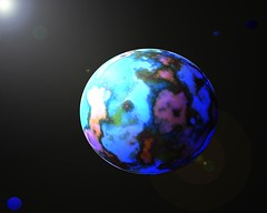 new world (kirondar) Tags: color solar graphics system galaxy worlds extraterrestrial suns newworlds waterworlds waterplanets goldielockszone killersociety rockyworlds distantearths earthsdouble