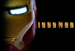 Lego Iron Man Poster (Oky - Space Ranger) Tags: wallpaper man movie poster iron lego super tony suit heroes marvel stark avengers licensed exo