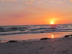 Sunset over the Gulf of Mexico (cheroberta123) Tags: sunset beach gulfofmexico nature water gulf cheroberta123