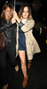 Caroline Flack Celebrities leave the 'Britain's Got Talent' studios after the live show London, England