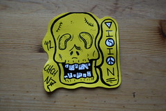 Skull (ViSiON (NZ)) Tags: christchurch illustration graffiti sticker stickerart vision handdrawn graffitiart sydneygraffiti stickercollection stickergrafitti nzstreetart christchurchgraffiti nzgraffiti chchstreetart christchurchstreetart chchgraffiti visionstreetart visionchchnz nzgraffitiart christchurchgraffitiart nzstickerart sydneygraffitiart sydneystickergraffiti sydneystickerbomb