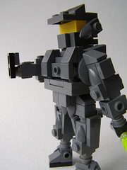 Jedi Master Chief (Simply Complex Simplicity) Tags: scale star force lego chief halo master wars brute tatooine ig88 miniland
