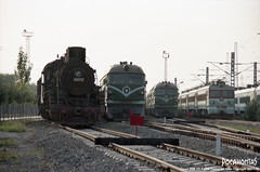 2011/10/2 JS8010 Baotou (Pocahontas®) Tags: railroad film train kodak engine railway steam locomotive portra160 135film