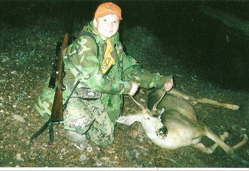 Jake's first Buck