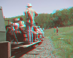 A halt on the bend (katyfernleigh) Tags: 3d anaglyph stereo spm twincamera ixus70 sdmsync