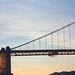 Golden Gate Bridge Sunset, December 2000