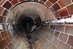 Size (A-Bomb Photography) Tags: urban drain exploration uer