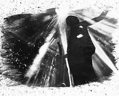Breathe Carolina (stephgomez.com) Tags: blackandwhite darkroom paint pa lancaster process effect spash digitalnegative chameleonclub davidschmitt breathecarolina kyleeven stephgomez blackoutforever