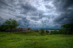 Stormy Sky 2 (It's my whole damn raison d'etre) Tags: storm alex clouds washington nikon fort maryland historic hdr d300s erkiletian