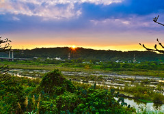 Sunset ( Nana) Tags: life light sunset sky beautiful clouds colorful natural taiwan  taiwan