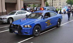 Michigan State Police (10-42Adam) Tags: blue trooper cops michigan 911 cop dodge emergency officer charger dodgecharger statetrooper officers statepolice michiganstatepolice lightbar policeweek michiganstatetrooper