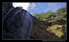 007_Valley of the Falls Blue Mountains (Gary Hayes) Tags: sydney australia bluemountains waterfalls wentworthfalls escarpments valleyofthewaters canon5d2 fujix100 canon17mmtselens