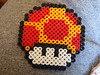 Mega Mushroom (tawnie marie.) Tags: mushroom beads sprite bead hama perler mega