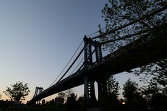 (Rosino) Tags: city bridge sunset usa newyork tokinaatx124manhattan