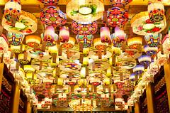 Lotus Lantern Festival (<Lee.>) Tags: city summer art festival observation temple happy nikon asia bokeh korea seoul lantern buddhasbirthday d7000