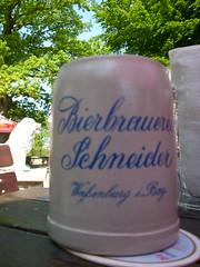 Krug (schremser) Tags: bayern deutschland bier krug gasthaus biergarten weisenburg bierkrug araunerkeller bierbrauereischneider