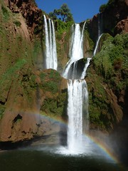 Every teardrop is a waterfall.. (areyarey) Tags: africa travel tree nature water pool beautiful rock vertical stone river waterfall rainbow paradise peace natural north rocky peaceful el morocco serenity cascades environment flowing cascade ouzoud abid douzoud areyarey