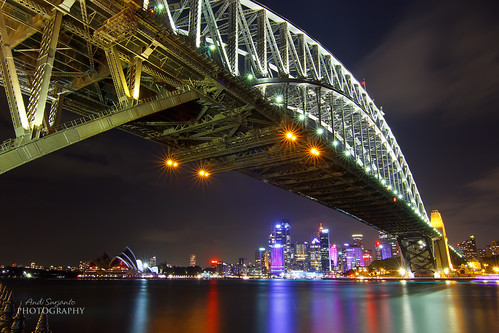 Harbour Bridge, Opera House and City of Sydney