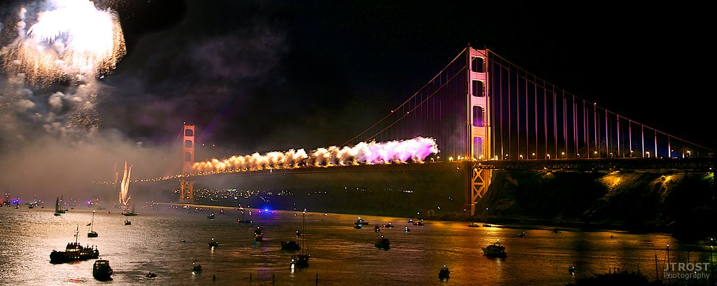 Golden Gate Bridge - 75th Birthday Celebration