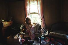 (yyellowbird) Tags: house selfportrait abandoned girl cari